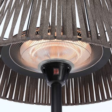 Sunred fritstående terrassevarmer Artix Corda 2100 W halogen brun[7/10]