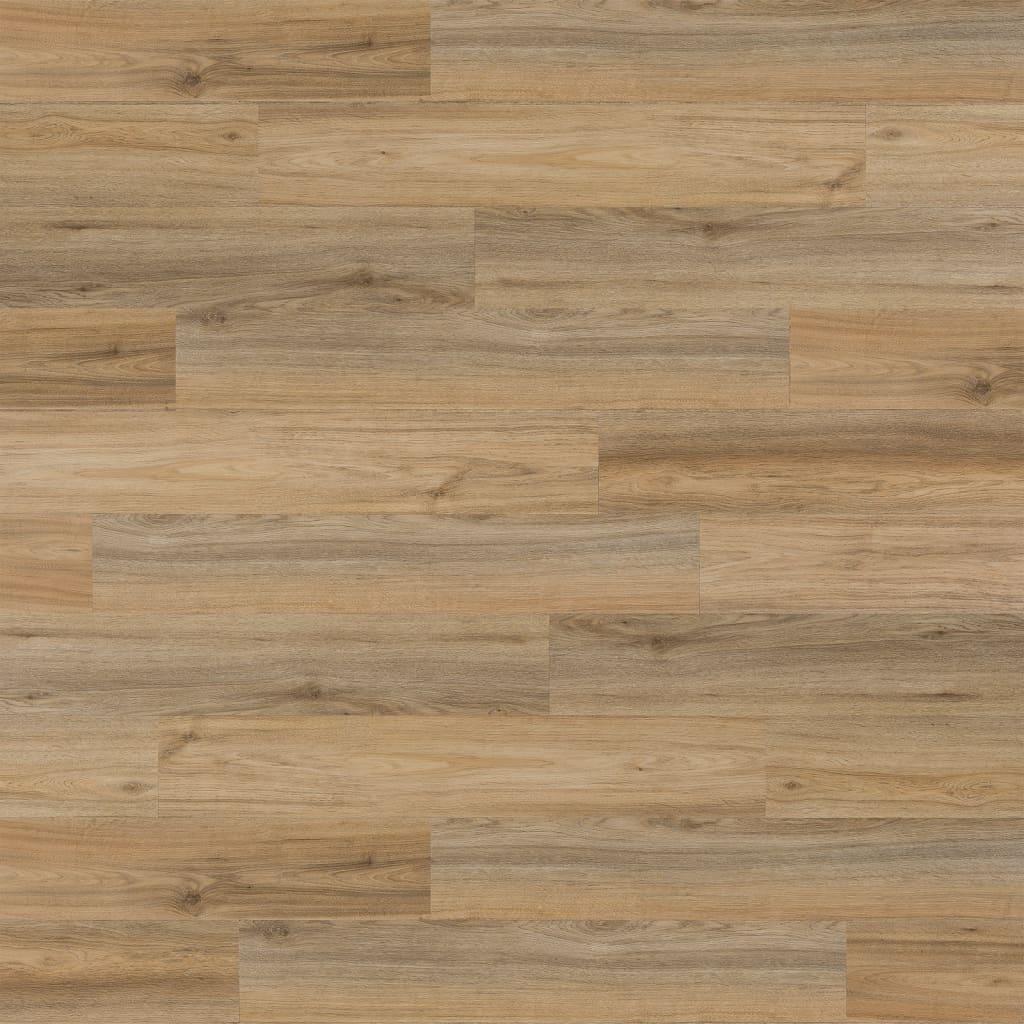WallArt Panouri perete aspect de lemn, maro latte, stejar natural