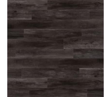WallArt Planken hout-look schuurhout eiken houtskoolzwart