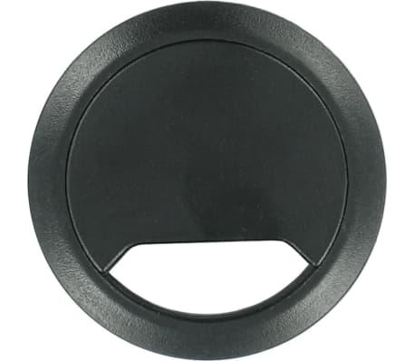 Kabeldoorvoer zwart 80 mm - Elektra kabeldoorvoeren buizen en goten