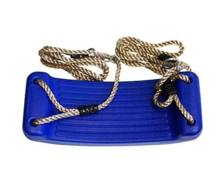 Blauwe schommel 40 cm voor kinderen - Buitenspeelgoed - Schommelen -