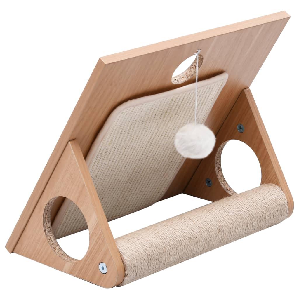 Škrabadlo pro kočky se sisalovým koberečkem 40 cm