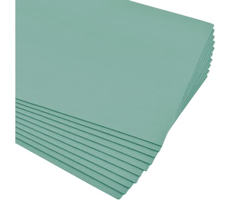 vidaXL Plăci de spumă izolatoare XPS, verde, 5 mm, 100x50 cm, 40 m²