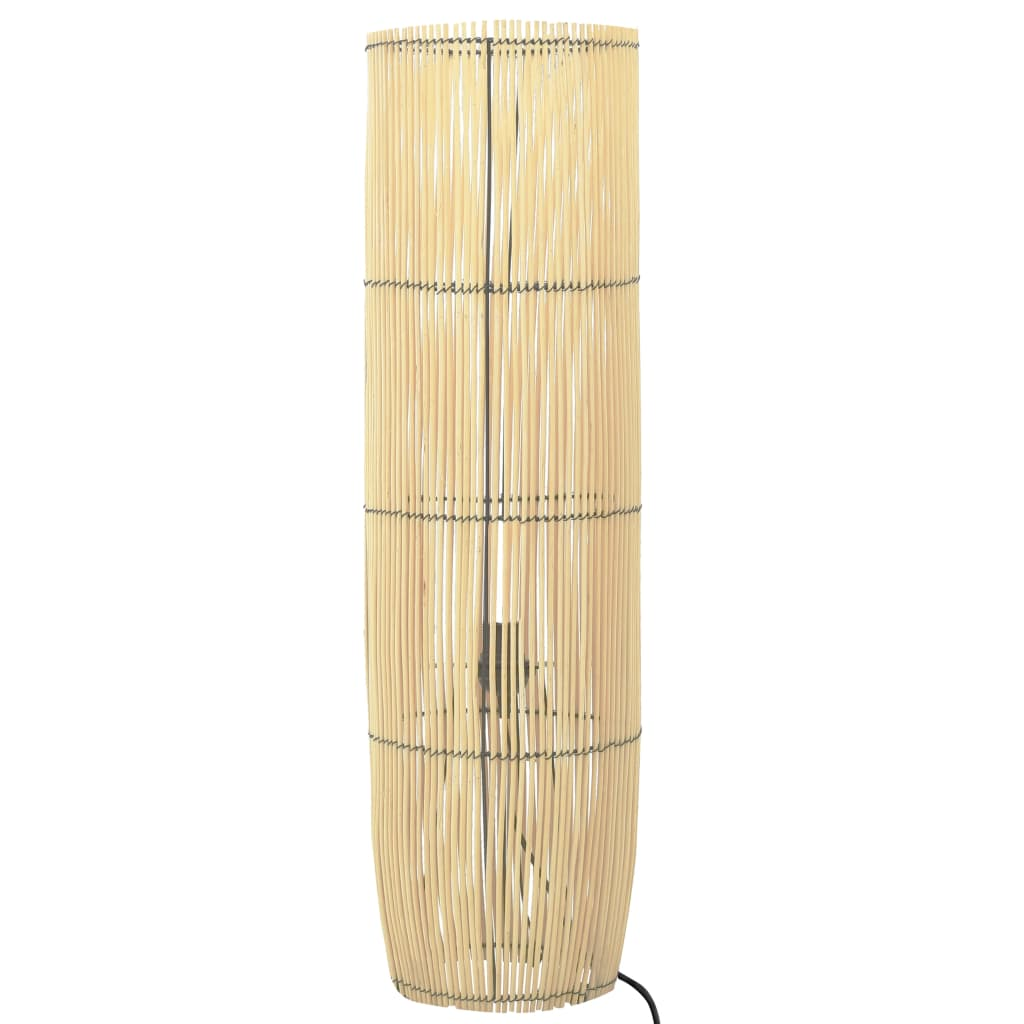 vidaXL Lampă de podea, 72 cm, răchită, E27 vidaxl.ro