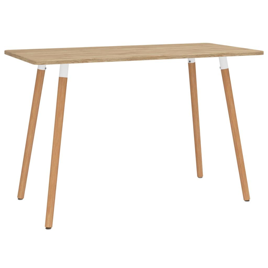 Jídelní stůl 120 x 60 x 75 cm kov