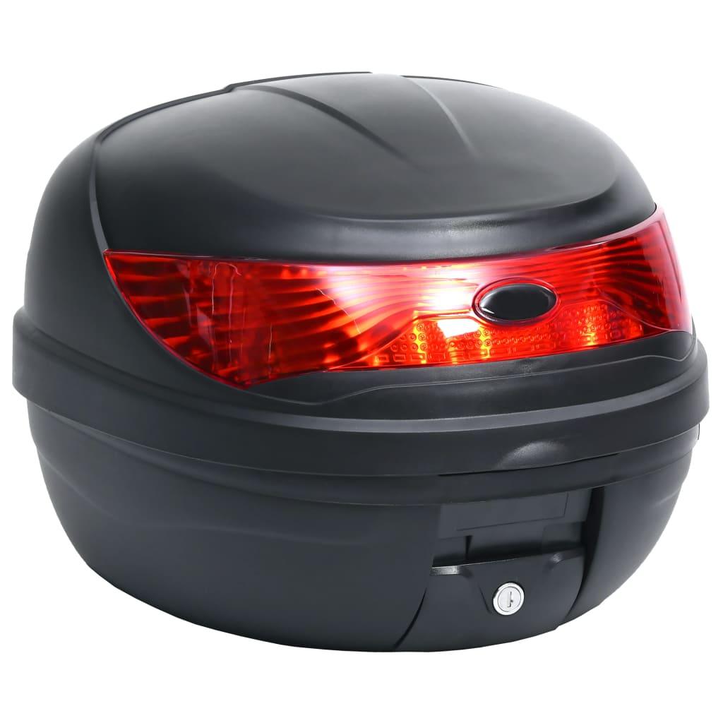vidaXL Motokufr na motorku 35 l na 1 helmu