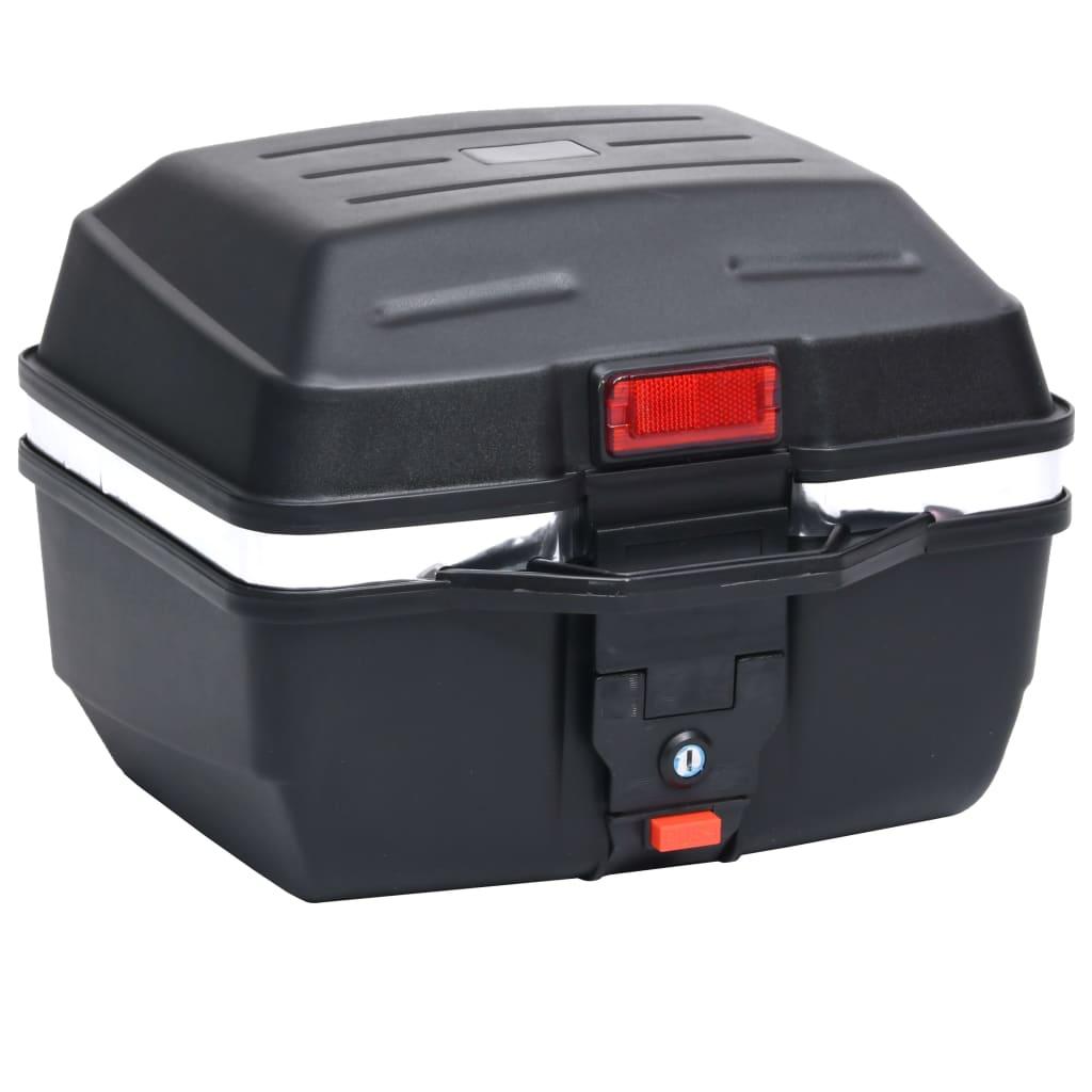 vidaXL Cutie portbagaj pentru motociclete 24 L pentru 1 cască vidaxl.ro