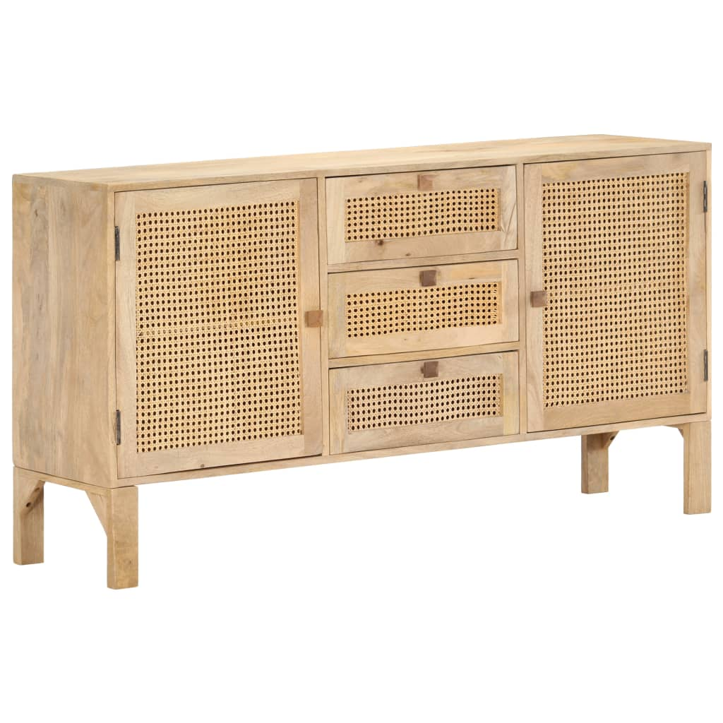 If you're looking for a simple touch of rustic charm to add to your interior decor, our solid mango wood sideboard is here!