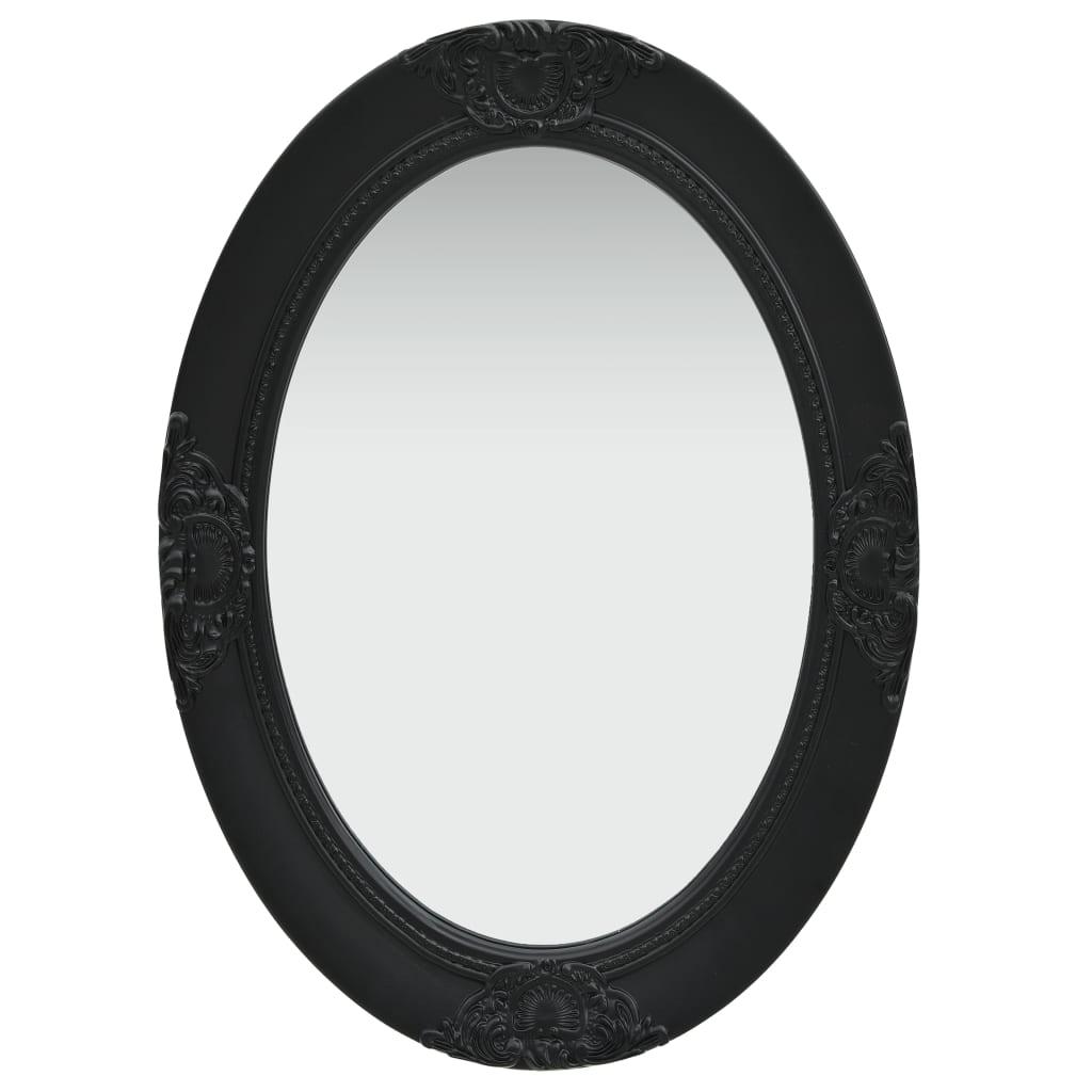 vidaXL Wandspiegel barok stijl 50x70 cm zwart
