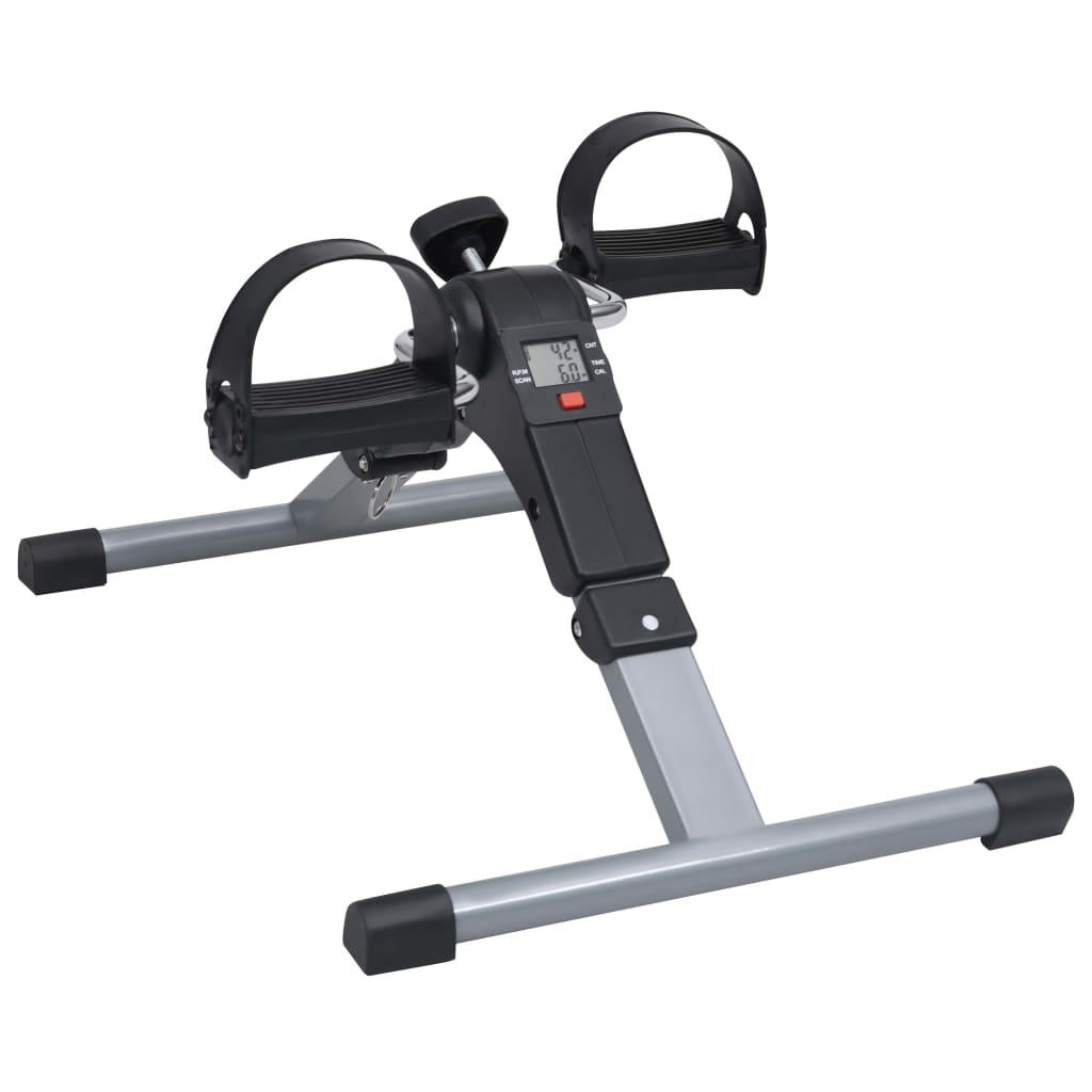 vidaXL Aparat exerciții cu pedale pentru picioare și brațe, afișaj LCD vidaxl.ro