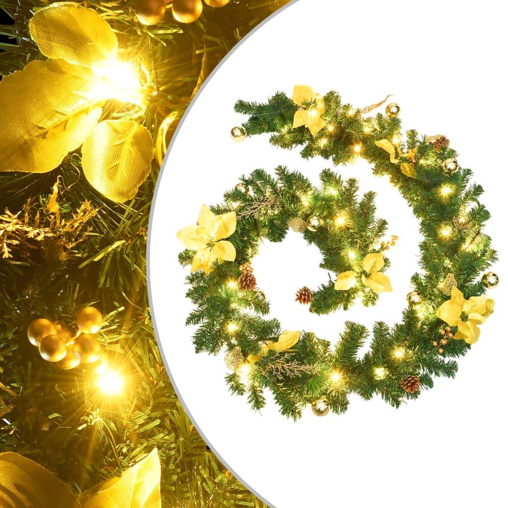 Jõuluvanik LED-tuledega roh..