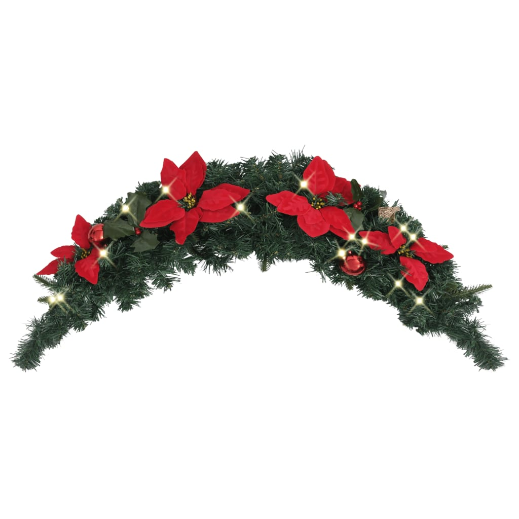 Jõulukaar LED-tuledega, roh..