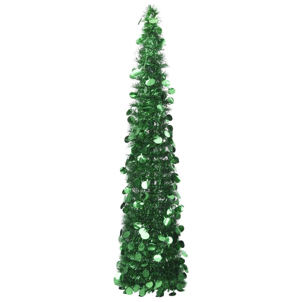vidaXL Brad de Crăciun artificial tip pop-up, verde, 150 cm, PET vidaxl.ro