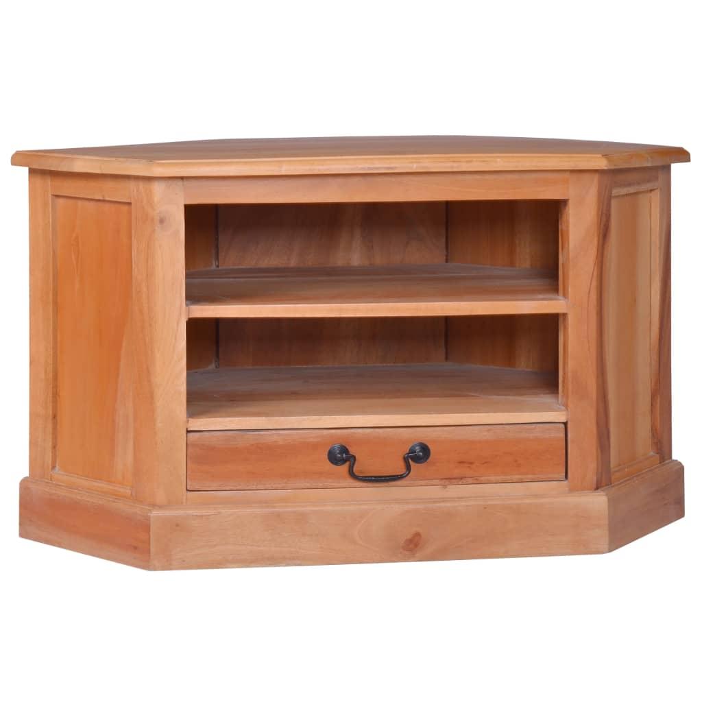 vidaXL Dulap TV de colț, lemn masiv de mahon vidaxl.ro