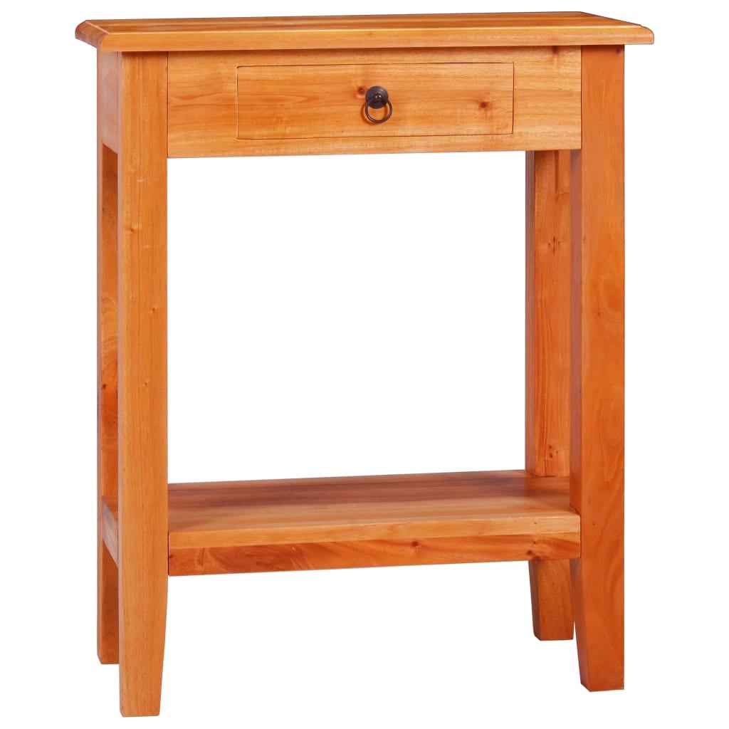 vidaXL Masă consolă, 60 x 30 x 75 cm, lemn masiv de mahon poza 2021 vidaXL