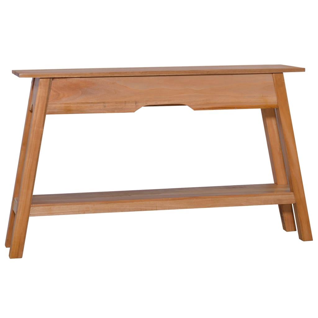 vidaXL Konzolni stol 120 x 30 x 75 cm od masivnog drva mahagonija