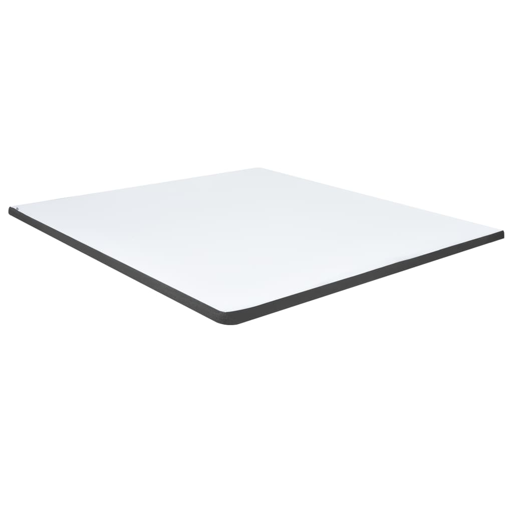 Boxspring stof donkergrijs 160x200 cm