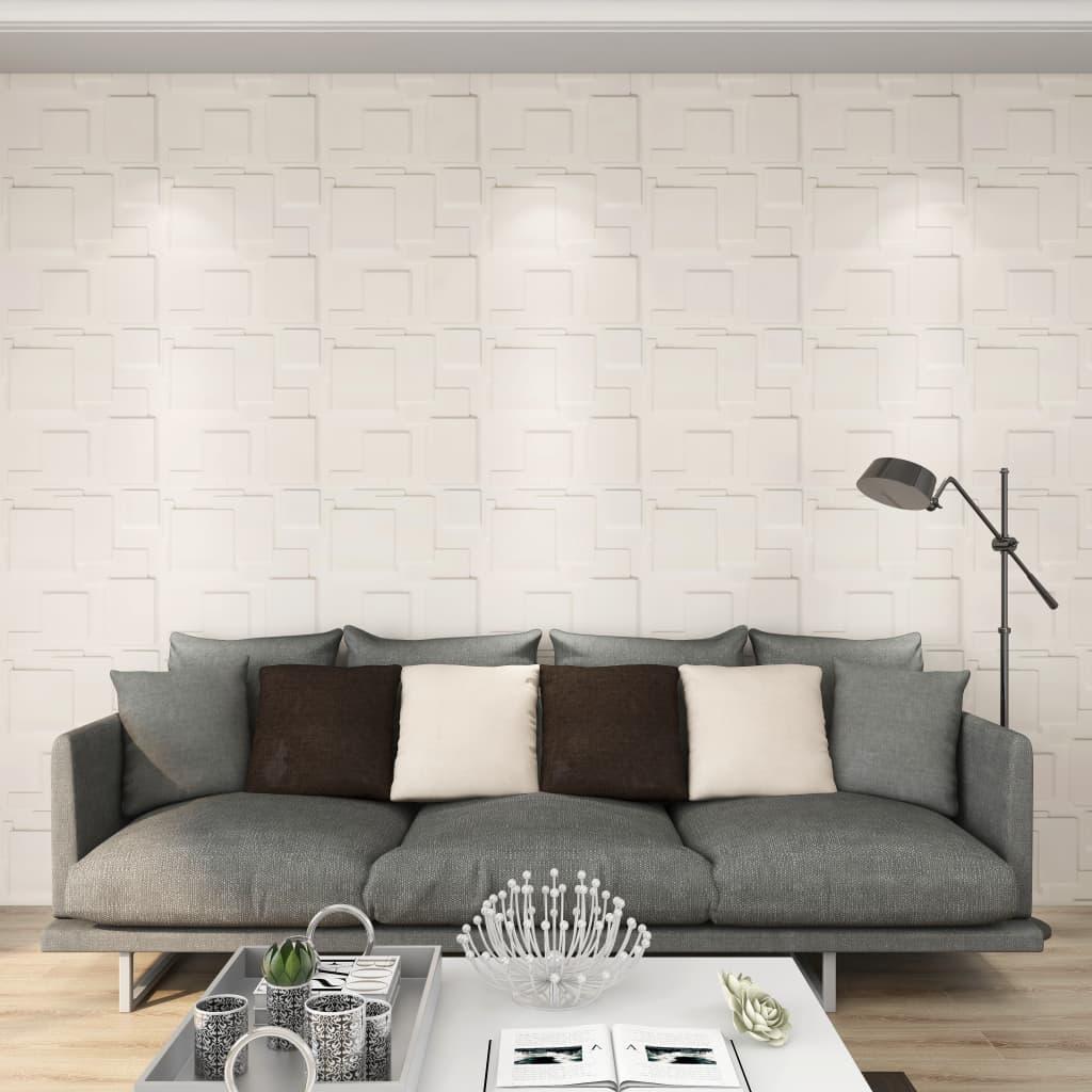 24 seinapaneeli 3D, 0,5 x 0,5 m, 6 m²