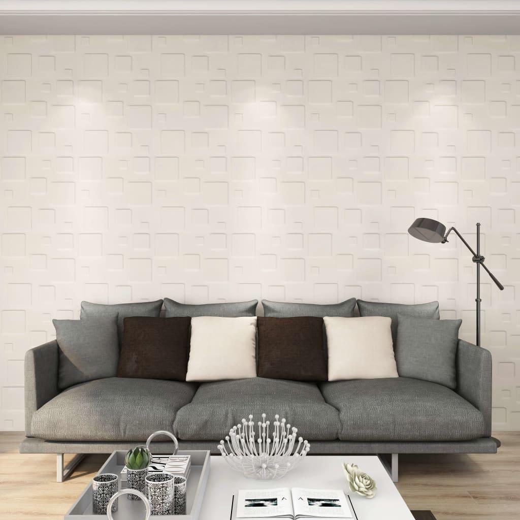 vidaXL Panouri de perete 3D, 24 buc., 0,5 x 0,5 m, 6 m² vidaxl.ro