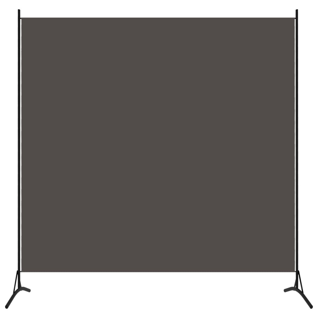 vidaXL Parawan 1-panelowy, antracytowy, 175 x 180 cm