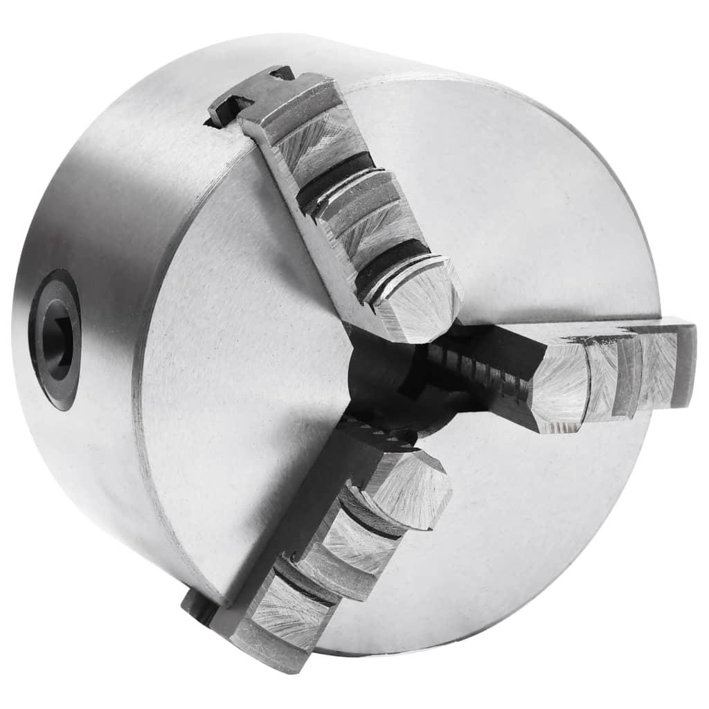 3čelisťové samostředící sklíčidlo soustruh 100 mm ocel