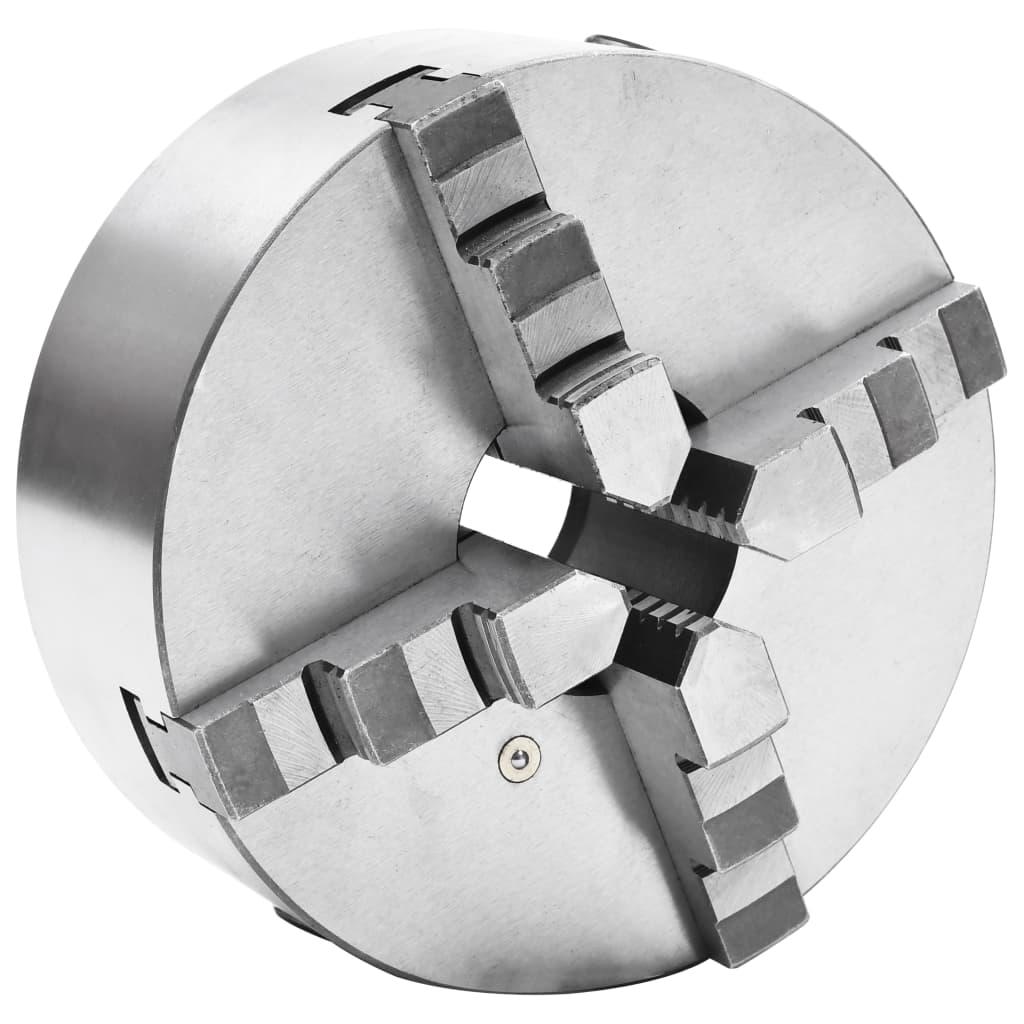 4čelisťové samostředící sklíčidlo soustruh 200 mm ocel
