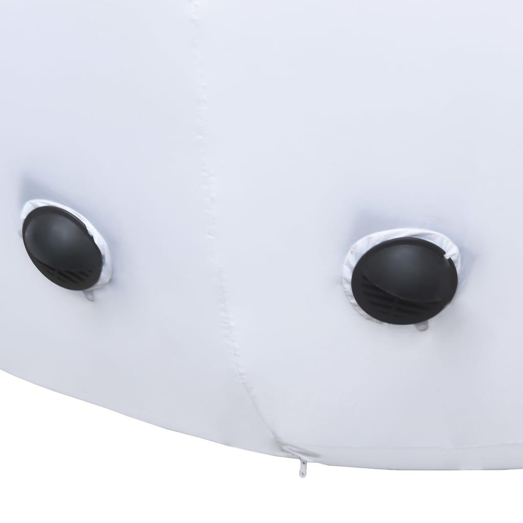 vidaXL Kerstsneeuwpop opblaasbaar met hogedrukventilator XXL 10 m