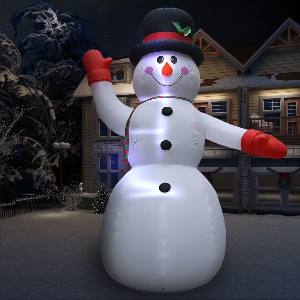 vidaXL Om de zăpadă gonflabil, 10 m, XXL, suflantă de înaltă presiune poza 2021 vidaXL