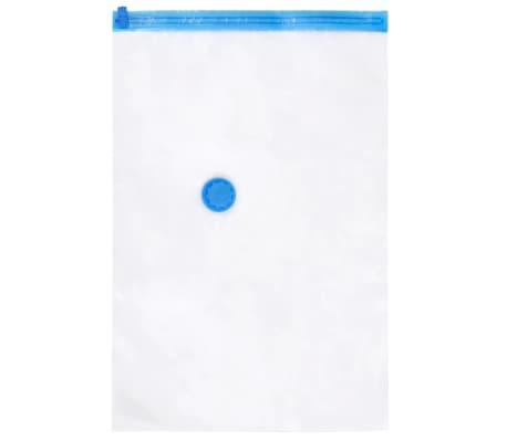 vidaXL Bolsas de almacenaje al vac/ío de ropa y viaje 60x40 cm 50 uds