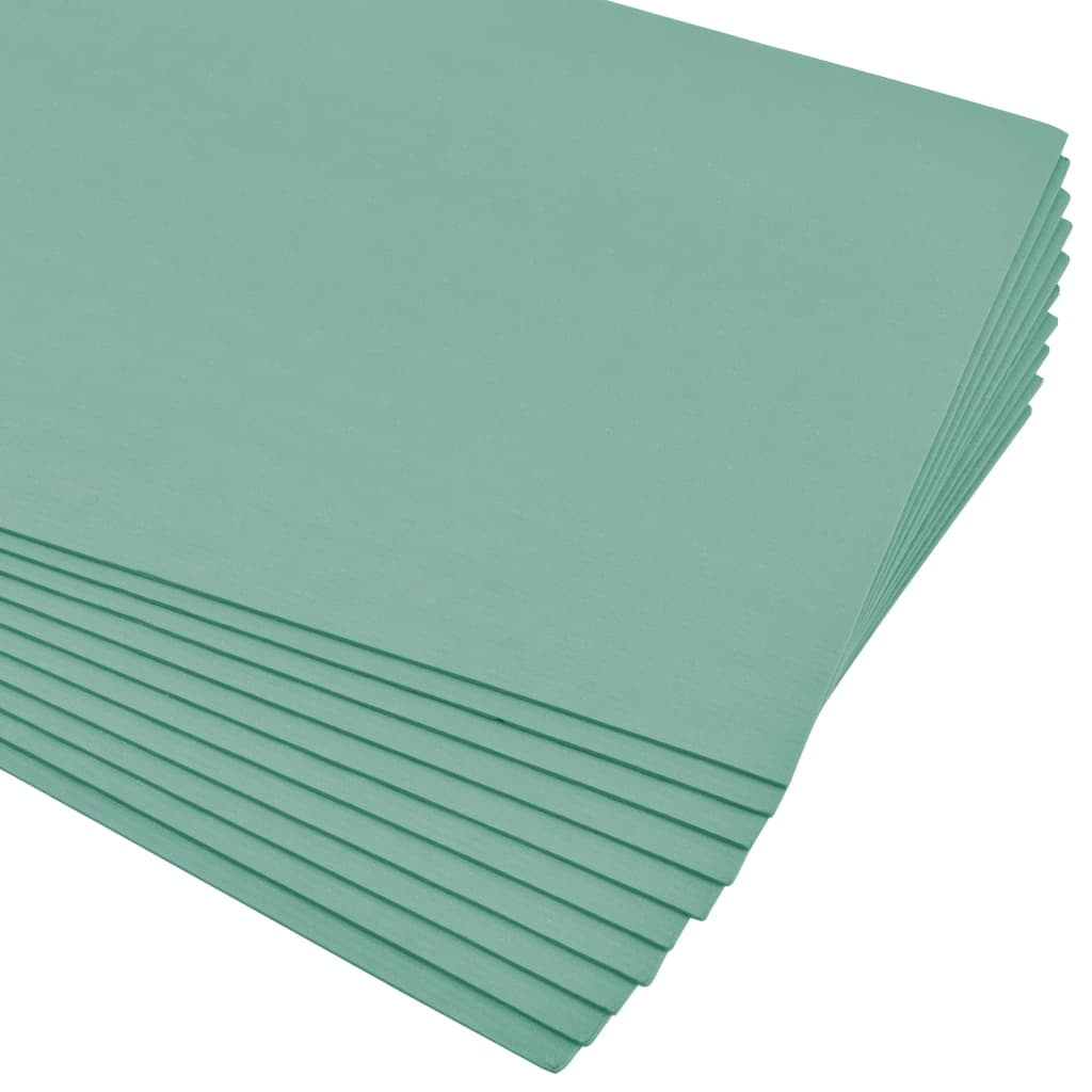 vidaXL Plăci de izolație XPS din spumă 5 mm 100x50 cm verde 100 m² imagine vidaxl.ro