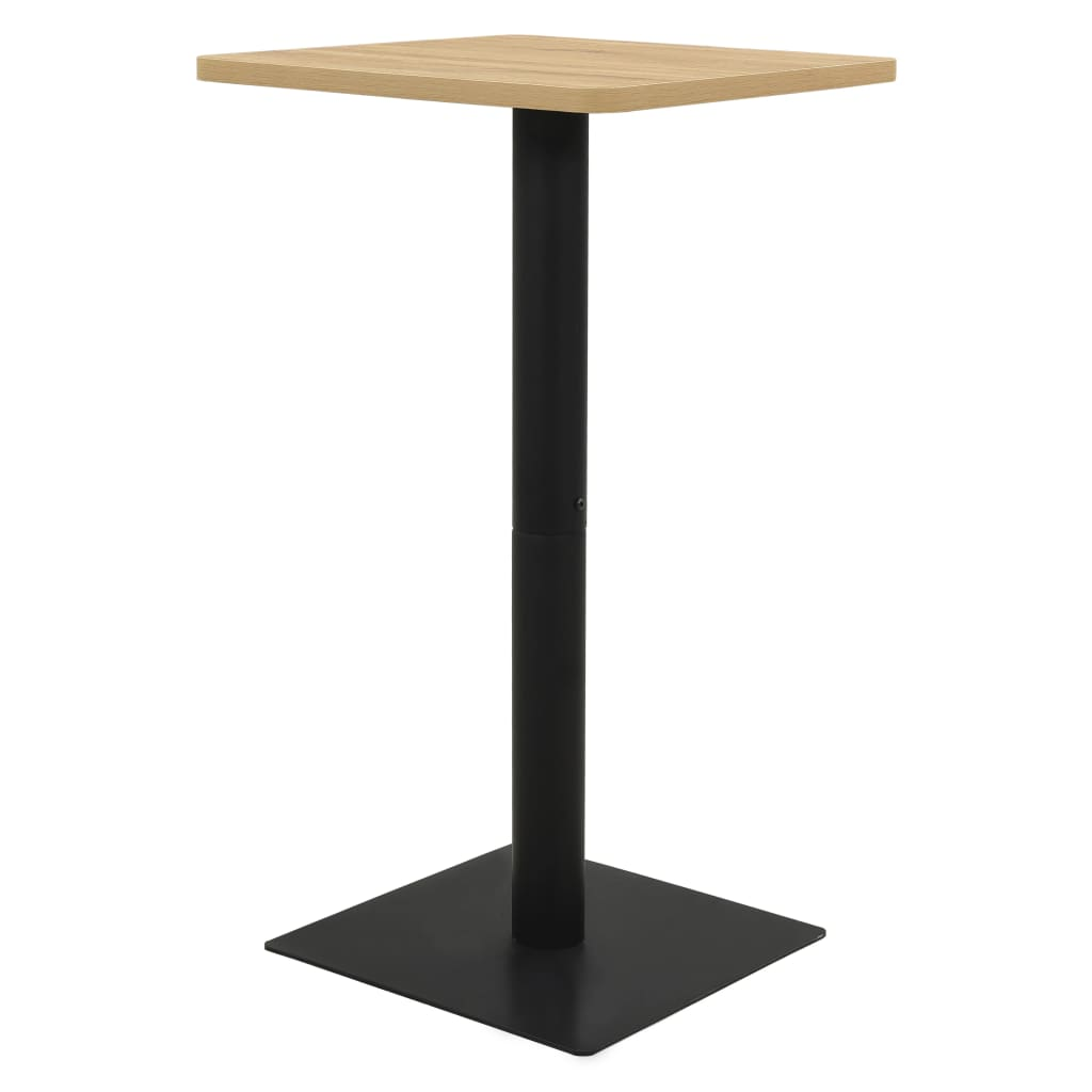 Bistro stolek barva dub 60 x 60 x 107 cm