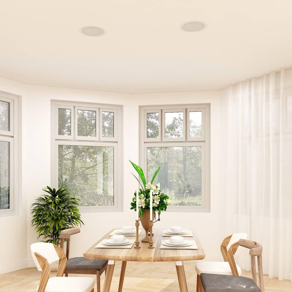 vidaXL Difuzoare de perete și tavan, 2 buc., 80 W poza 2021 vidaXL