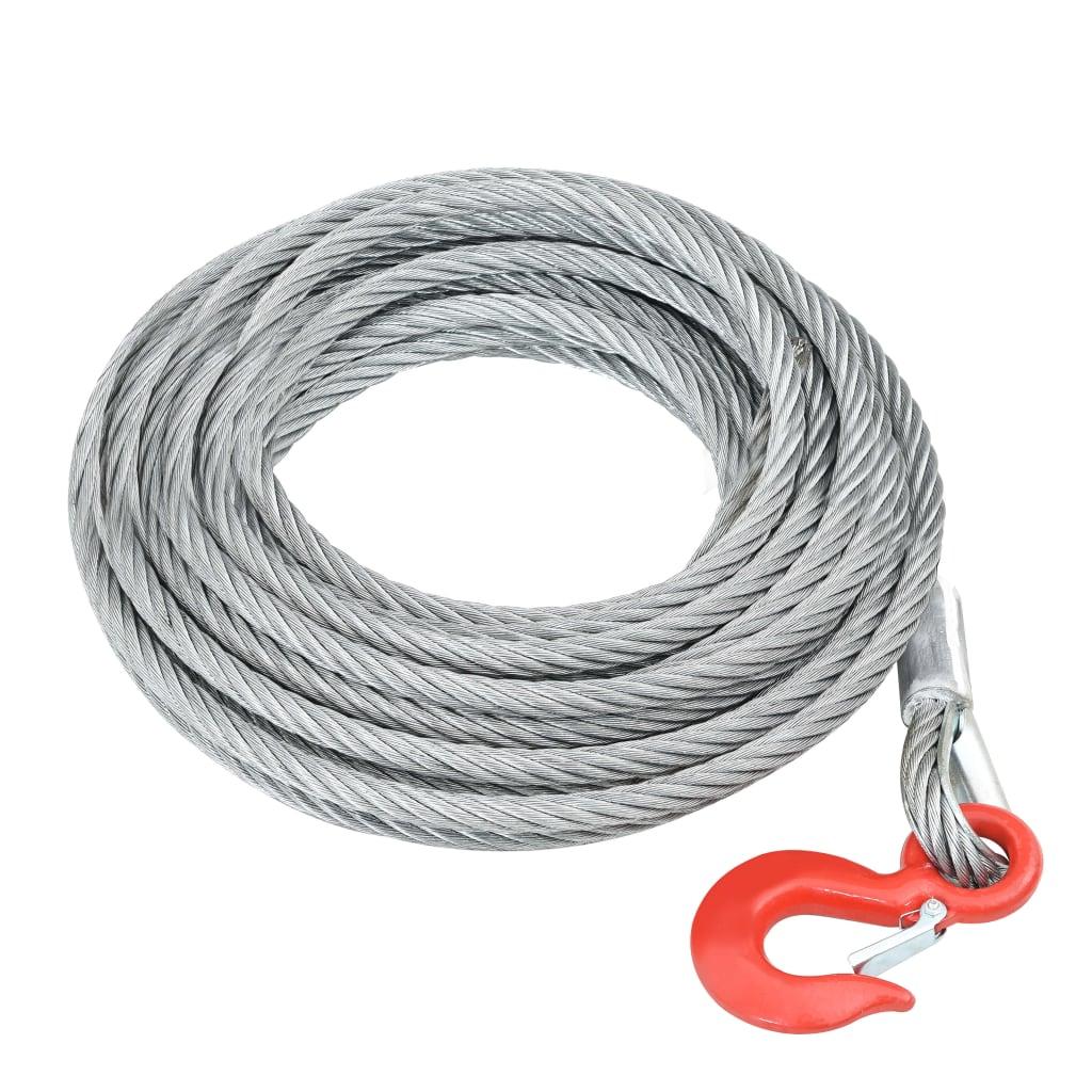 Ocelové lano 3200 kg 20 m