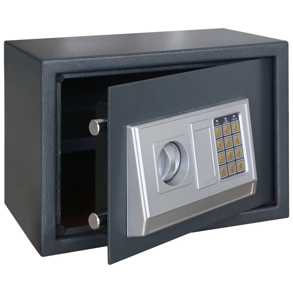 Elektronický digitální trezor s poličkou 35 x 25 x 25 cm
