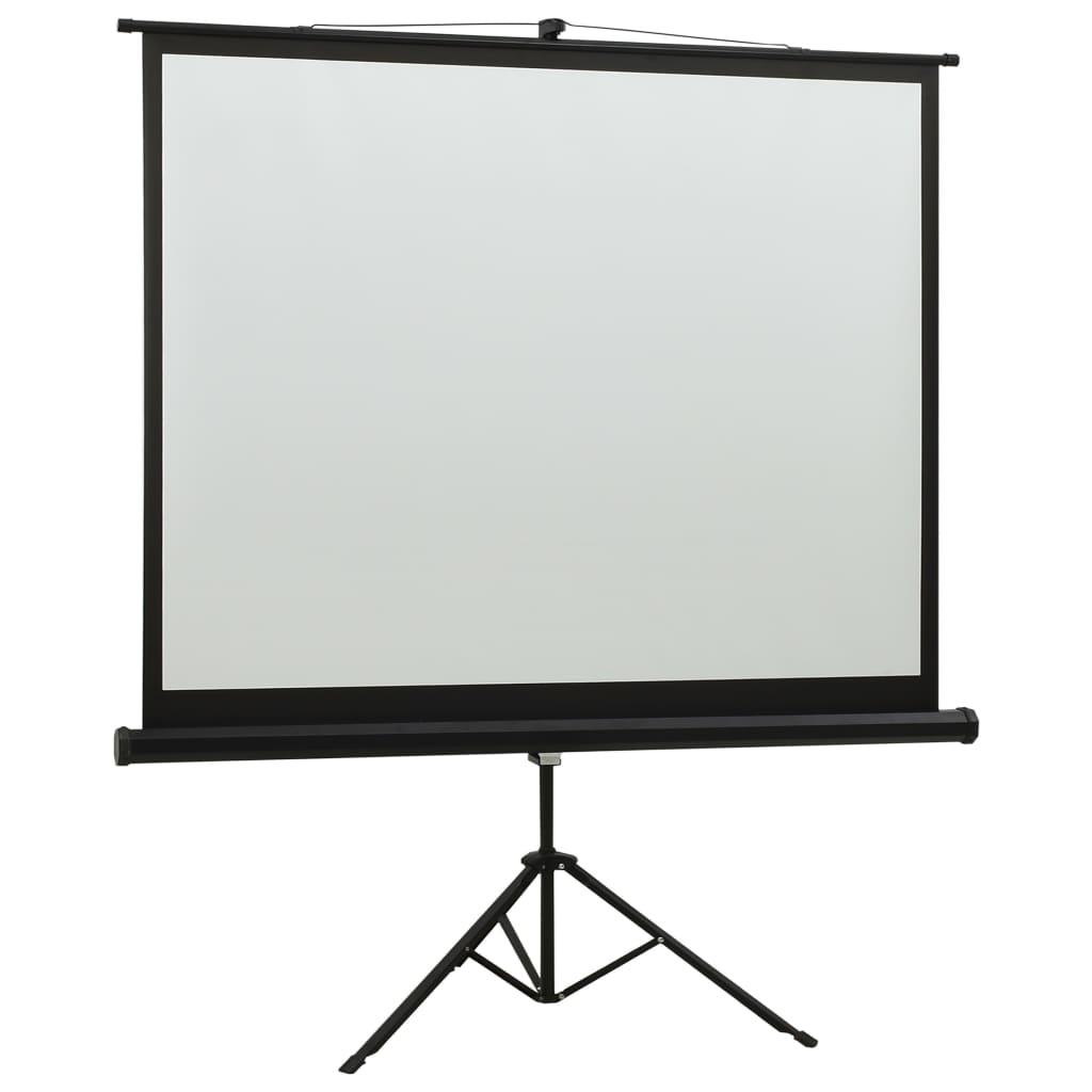 vidaXL Projectiescherm met standaard 16:9 57''