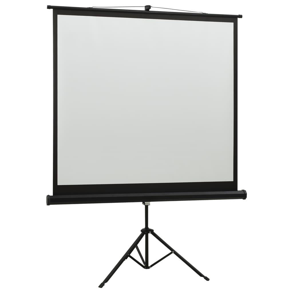 vidaXL Projectiescherm met standaard 1:1 60''
