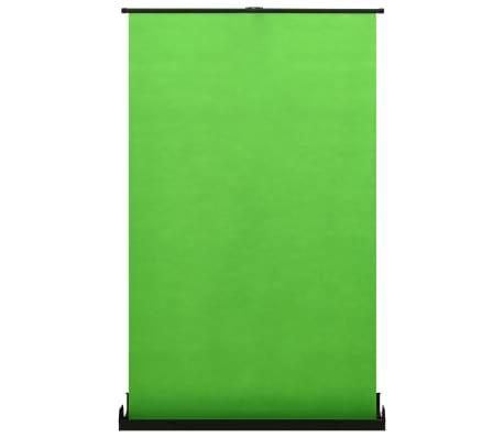 """vidaXL Fondo para fotografía verde 55"""" 4:3"""