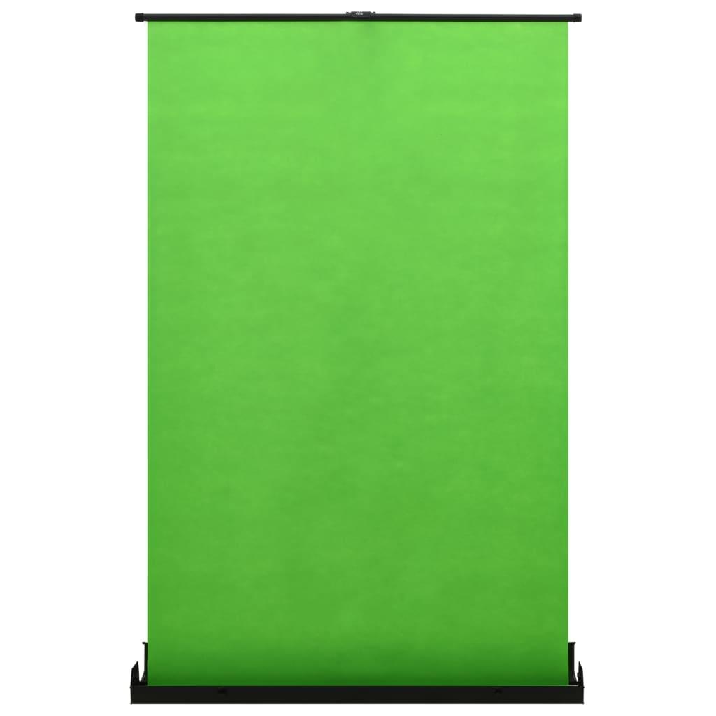 "vidaXL Fundal pentru fotografii, verde, 60"" 4:3 imagine vidaxl.ro"