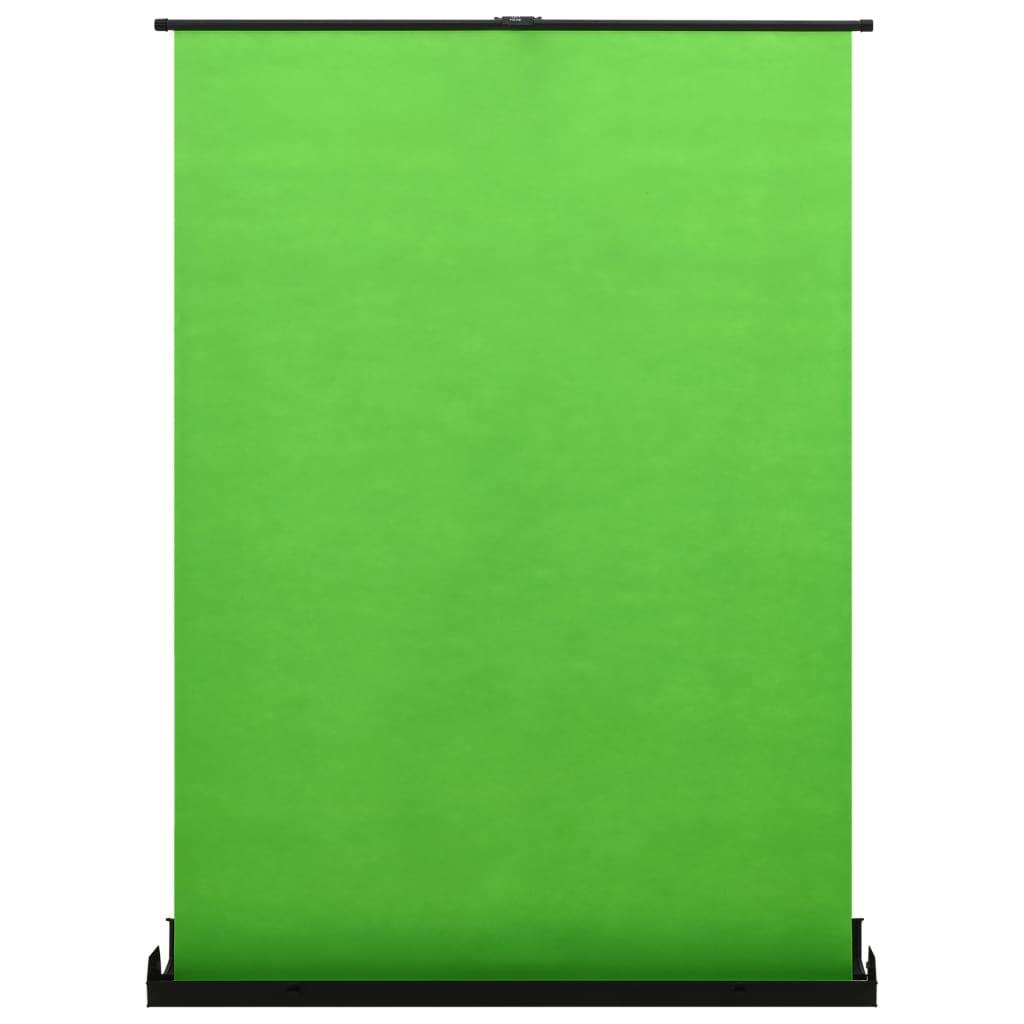 "vidaXL Fundal pentru fotografii, verde, 72"" 4:3 vidaxl.ro"