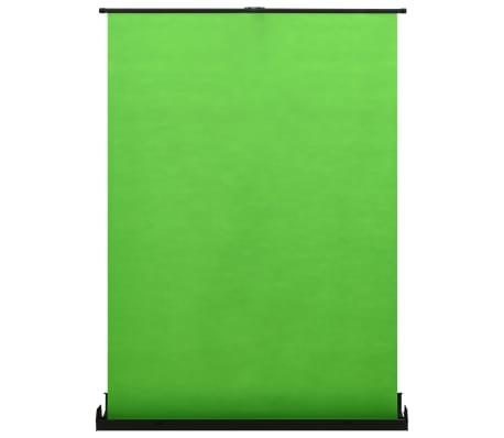 """vidaXL Fondo para fotografía verde 72"""" 4:3"""