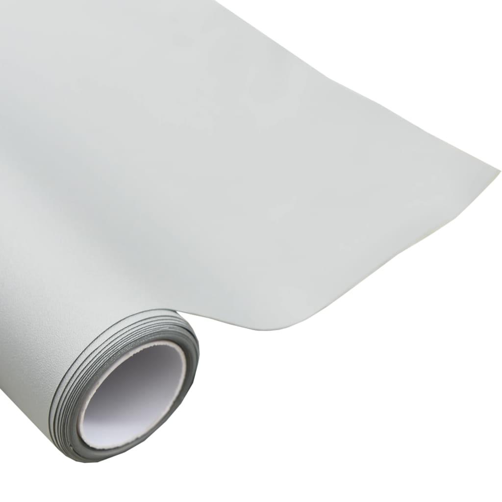 vidaXL Projectiedoek 1:1 63'' PVC metallic