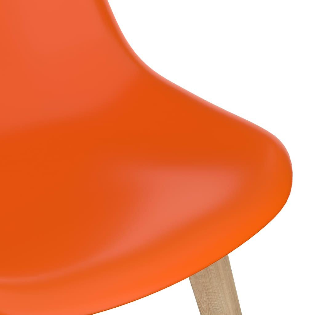 vidaXL 5-delige Eethoek oranje