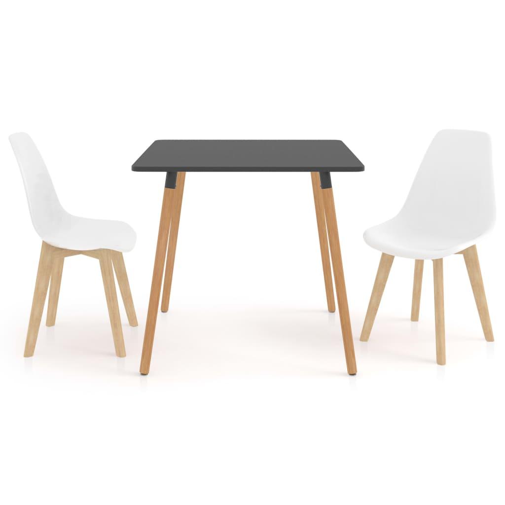vidaXL Set mobilier de bucătărie, 3 piese, alb vidaxl.ro