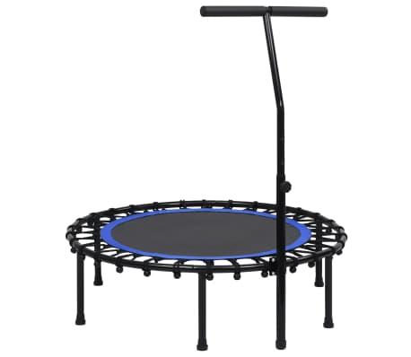 vidaXL Trampolina fitness z uchwytem, 102 cm