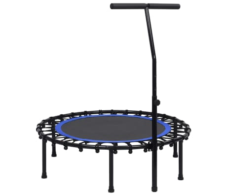 vidaXL Fitness Trampoline with Handle 102 cm