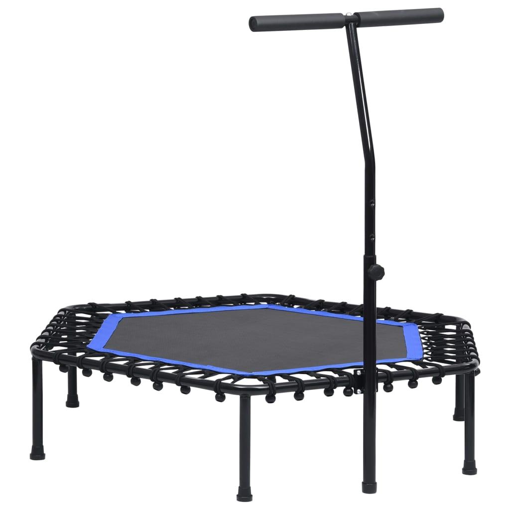vidaXL Trambulină de fitness cu mâner, 122 cm poza 2021 vidaXL