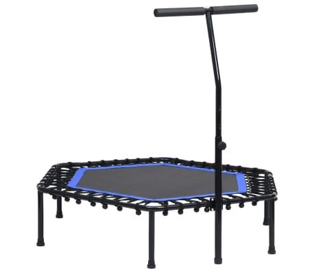 vidaXL Fitness trampolína s rukoväťou 122 cm