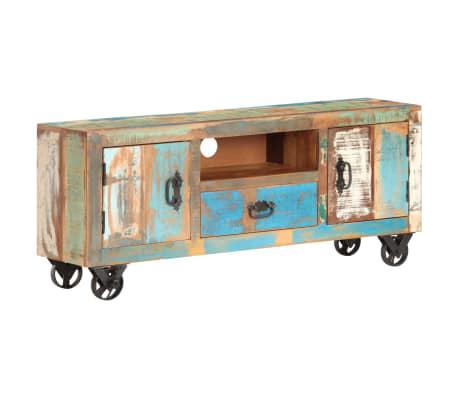 vidaXL Tv-meubel 120x30x50 cm massief gerecycled hout