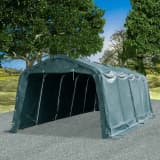 vidaXL Removable Livestock Tent PVC 550 g/m² 3.3x8 m Dark Green