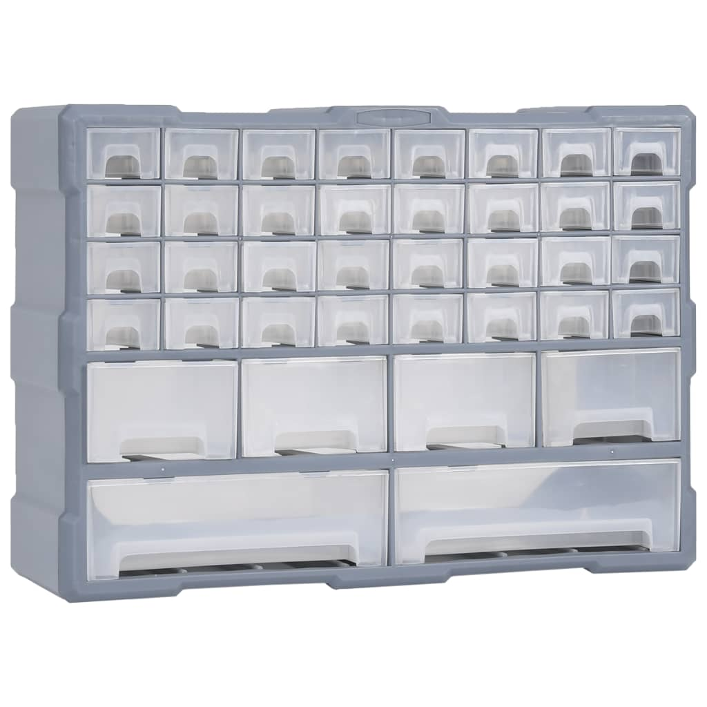 vidaXL Organizator cu 40 de sertare, 52 x 16 x 37,5 cm poza 2021 vidaXL